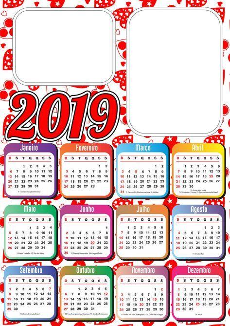 Calendario Moda 2020.Calendario 2019 Coloriar 2019 2020 Calendario Moda Y