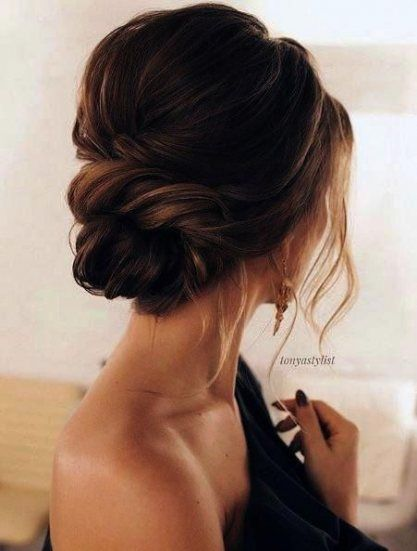 47 Trendy Ideas Wedding Hairstyles For Strapless Dress Style Hair Styles Wedding Hair Inspiration Long Hair Styles