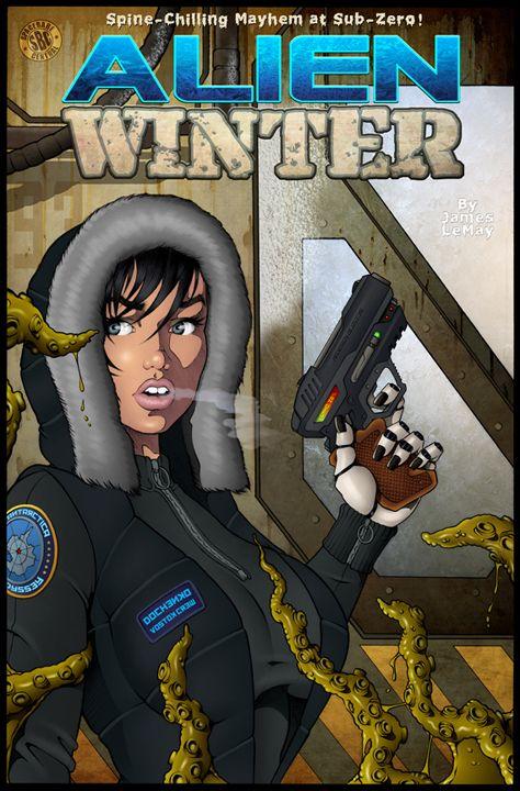 Alien Winter Color By James Lemay Graphix Comic Artist Winter Colors Comic Art