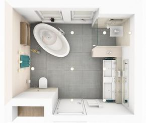 freistehende Badewanne   Bad   Pinterest   Bathroom floor plans ...   {Bad mit freistehende badewanne dachgeschoss 67}