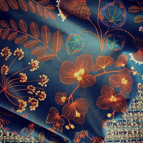 maison thevenon tissu velours ras