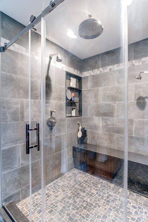 Master Bath Spa Retreat A Rustic Suite Bathroom Decor Bathroom Shower Design Bathroom Shower Tile