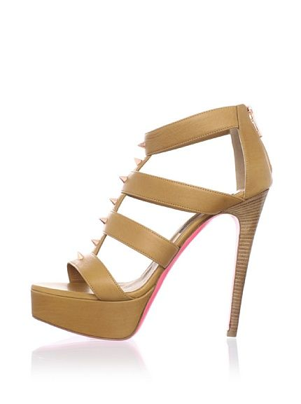 These are just about perfect... Ruthie Davis Women's Lounge Platform Sandal at MYHABIT