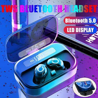 Details About Bluetooth 5 0 Headset Tws Wireless Earphones Mini Stereo Headphones Earbuds Us Earbud Headphones Stereo Headphones Wireless Earphones