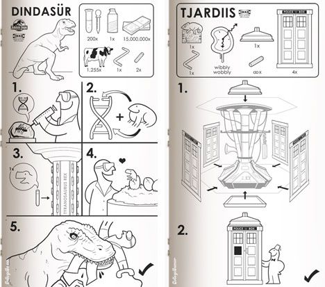 TARDIS builders manual by Glen Walker TARDIS plans Pinterest - instructional manual