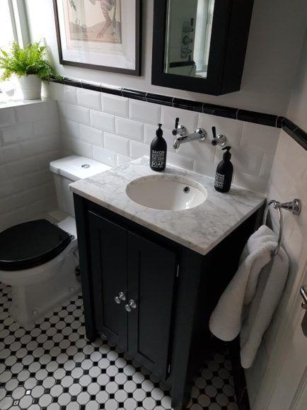 Off Black Vanity Unit With Carrara Marble Top Aspenn Furniture Black Vanity Bathroom Black Bathroom Furniture Vanity Units