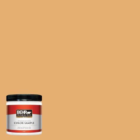 BEHR Premium Plus 8 oz. #M260-5 Mac N Cheese Interior/Exterior Paint Sample
