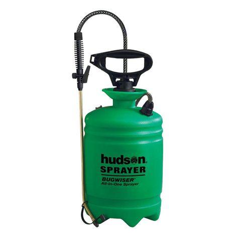 Hudson 3 Gal Green Bugwiser All In 1 Pump Sprayer Sprayers Wood Care Gallon