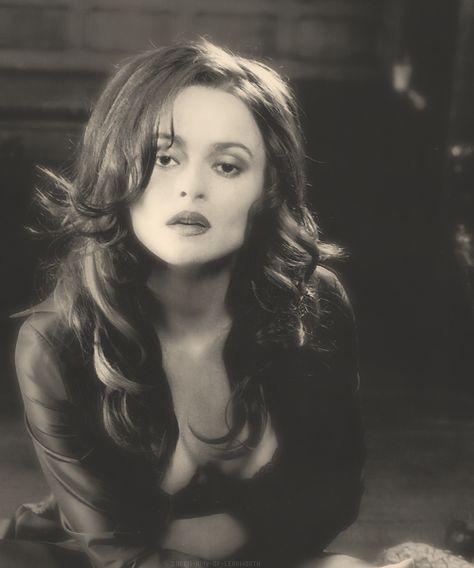 Helena Bonham-Carter - as a non comical looking character ... just beautiful