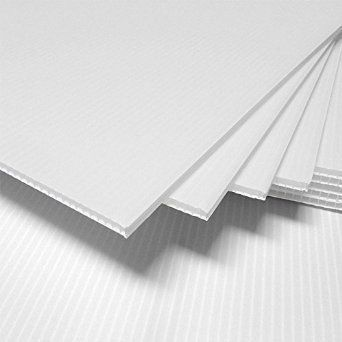 2 Pack Corrugated Plastic 24x36 4mm White Walmart Com In 2020 Corrugated Plastic Sheets Corrugated Plastic Plastic Sheets