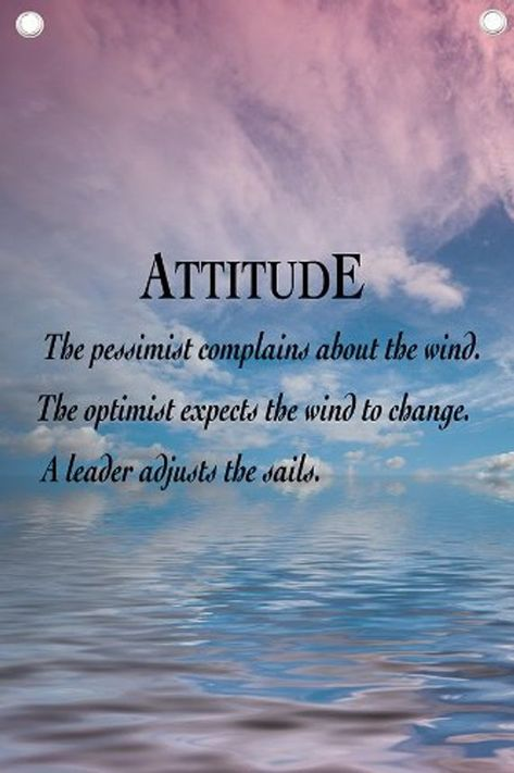 Attitude - Motivational Quotes - Wall Quotes Canvas Banner