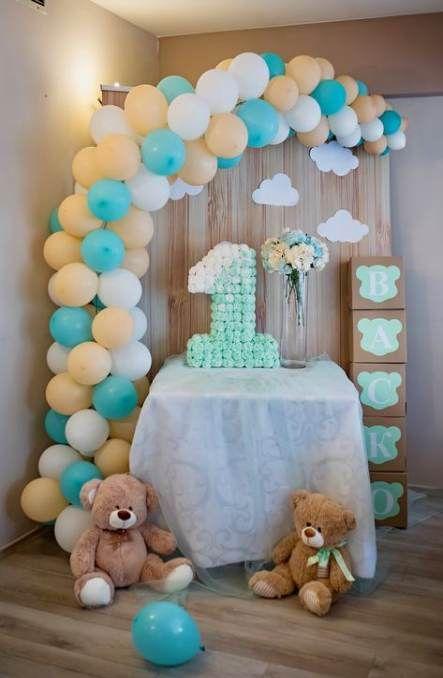 Baby Shower Boy Decoracion.Baby Shower Ideas Decoracion Boys Decor Teddy Bears 56 Ideas