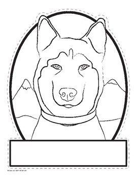 Husky Shaped Sled Dog Activities Pack Balto Togo Dog