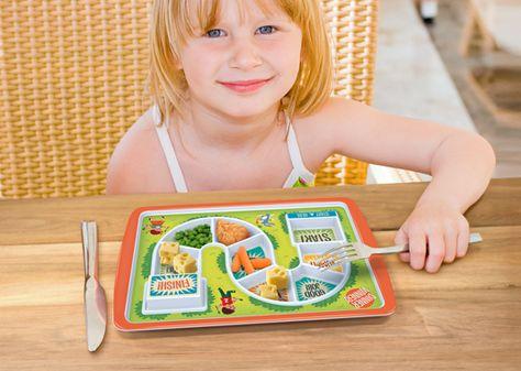 Fun Plates for Kids|Dinner Winner Plate|Lime Tree Kids