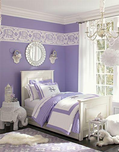 Girls Bedroom Idea 17 Purple Bedroom Design White Girls Rooms Purple Bedrooms