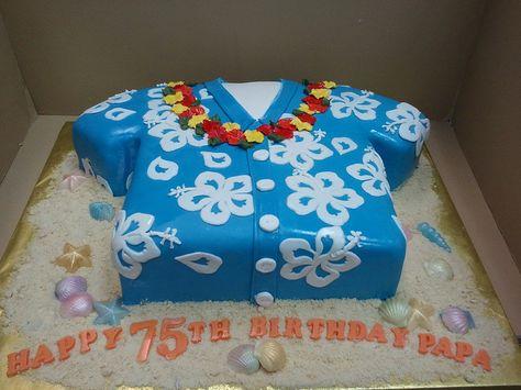 Incredible Hawaiian Shirt Cake Hawaiian Cake Shirt Cake Bjs Birthday Cakes Birthday Cards Printable Opercafe Filternl
