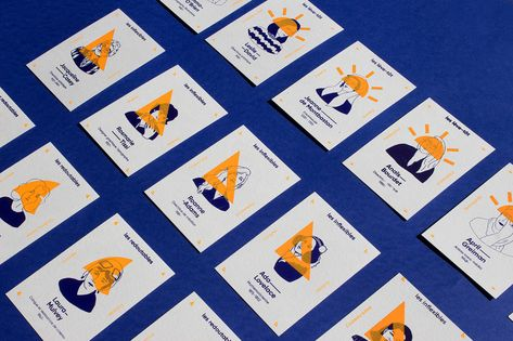 Women in Visual Communication — Card Game