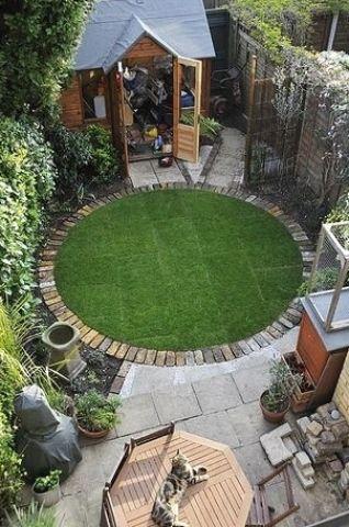 Small Garden Ideas Small Garden With Shed Small Gardens Small Space Gardening