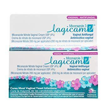Lagicam Vaginal Yeast Infection Antifungal 3 Day Treatment Cream, 0.9 oz