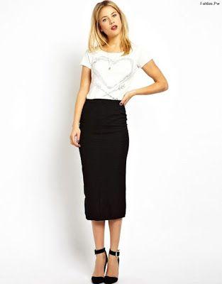 Faldas Negras De Vestir Little Office Suits En 2019