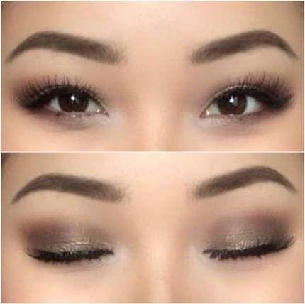 Best Makeup Wedding Natural Asian Hooded Eyes 65 Ideas Prom Eye Makeup Eye Makeup Pictures Monolid Makeup