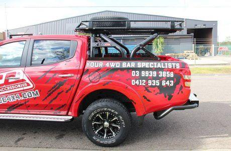 Resultado De Imagem Para Roof Rack With Rollbar Accesorios Para Camiones Camionetas Camioneta Ranger