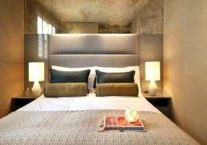 Chambre Ambiance Zen Beige Blanc Design Luminaire Suspension