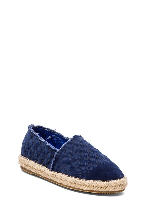Jeffrey Campbell Atha Loafer in Blue Denim