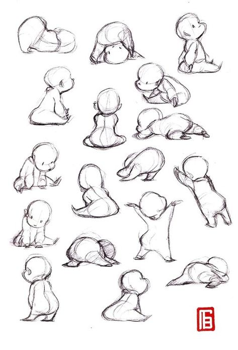 Related posts: ideas drawing poses dancing for 2019 Best Drawing Body Poses 67 Ideas Ideas Drawing Reference Poses Figuras humanas Anatomia Ideas drawing people poses anime Art Drawings Sketches, Sketch Art, Cartoon Drawings, Cool Drawings, Baby Cartoon Drawing, Cute Baby Drawings, Body Sketches, Character Sketches, Contour Drawings