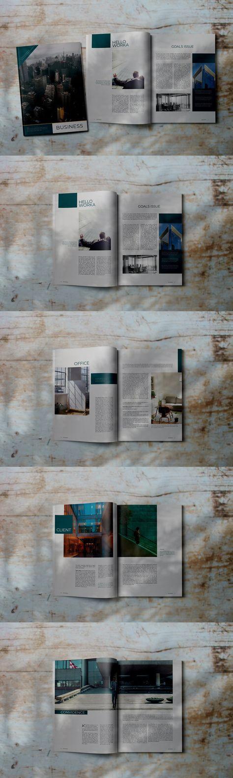 Business - Indesign Lookbook Magz