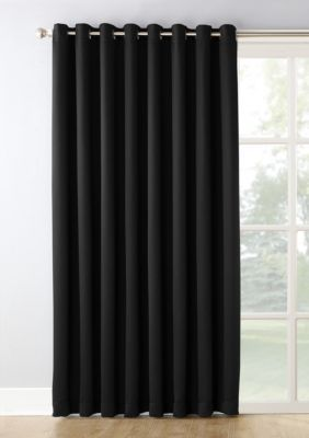 Hayden Extra Wide Blackout Sliding Patio Door Curtain Panel
