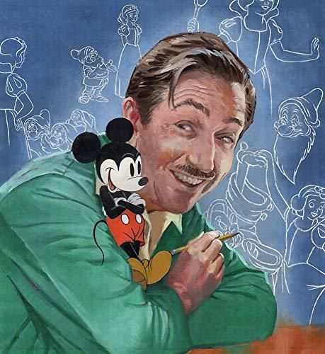 Walt's Imagination: The Life of Walt Disney (A Big Words Book) - Default