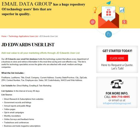 Would possibly Resume Database Email Yellow Page benefit