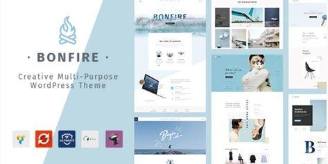 Bonfire v1.6.1 – Creative Multipurpose WordPress Theme