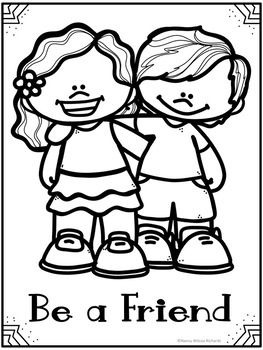 Anti Bullying Activities Posters And Quotes And Coloring Pages
