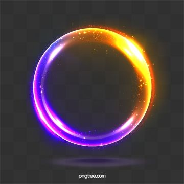 Aura Sphere Light Text Frame Color Ring