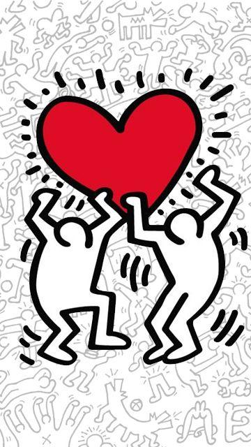 Keith Haring Wallpaper Keith Haring Prints Keith Haring Balance Art