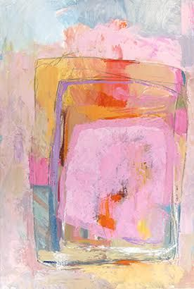 The Pink Gate - - pink abstract painting Contemporary Abstract Art, Modern Art, Contemporary Artists, Pink Painting, Painting Art, Watercolor Painting, Atelier D Art, Pink Abstract, Abstract Oil