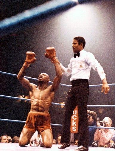 Marvin Hagler V Alan Minter Marvelous Marvin Hagler Boxing History Boxing Images