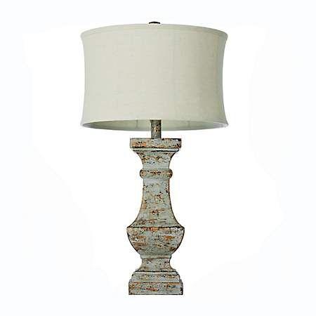 Distressed Eloise Table Lamp Kirklands Table Lamp Stylish Table Lamps Clear Glass Table Lamp