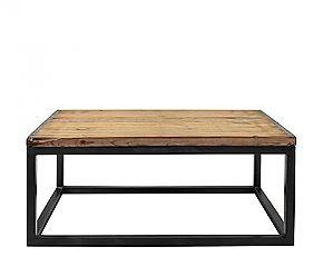 Table Basse En Bois Et Fer Luzio En Vente Jusqu A Dimanche