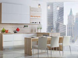 Kuchnia Bez Uchwytow Szukaj W Google Refacing Kitchen Cabinets Kitchen Cabinets Laminate Kitchen
