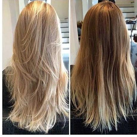 Haare lange blonde stufenschnitt für 30 Superb