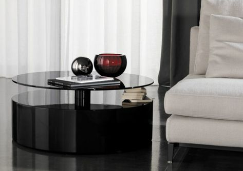 Der kompakte Beistelltisch im Wohnzimmer – platzsparende Designs ...