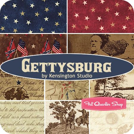A traditional collection to celebrate the 4th. Gettysburg by ... : gettysburg quilt shop - Adamdwight.com
