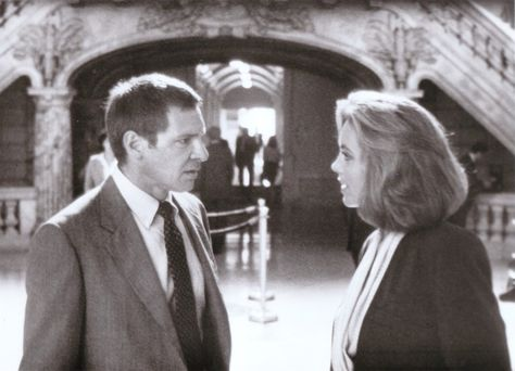 Harrison Ford \ Greta Scacchi (Presumed Innocent 1990) Alan J - presumed innocent
