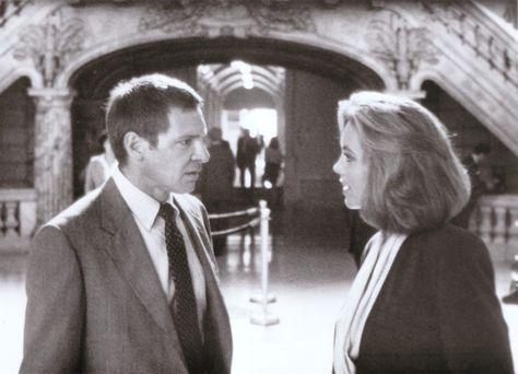 Harrison Ford \ Greta Scacchi (Presumed Innocent 1990) Alan J - presumed innocent