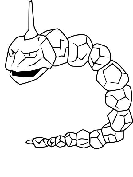 Coloriage Onix Pokemon Go A Imprimer Coloriage Pokemon Dessin Pokemon A Imprimer Coloriage Pokemon A Imprimer