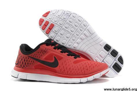 new product 0e3a1 dac93 ... buy new 511472 630 nike free 4.0 v2 mens gym red black pure platinum  fashion shoes