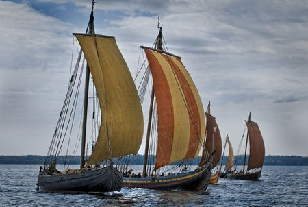 The Viking Ship Museum Vikingeskibsmuseet I Roskilde In 2020 Viking Ship Vikings Old Sailing Ships